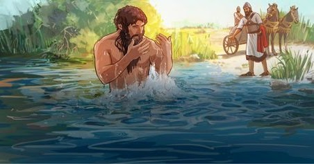 Streams of the River: Naaman, the Jordan and Baptism: Monday of the 3rd  Week of Lent